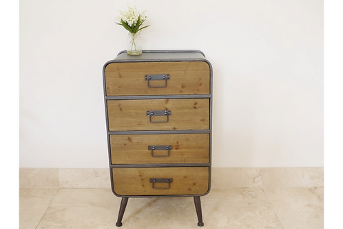 Retro Industrial Set of Drawers