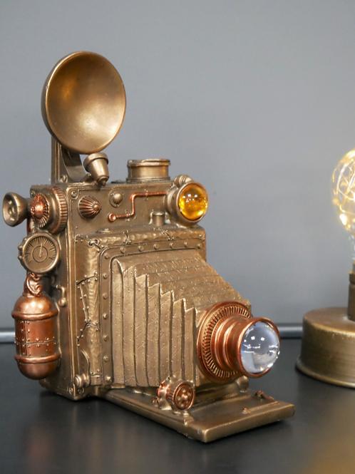 Steampunk Camera Decoration