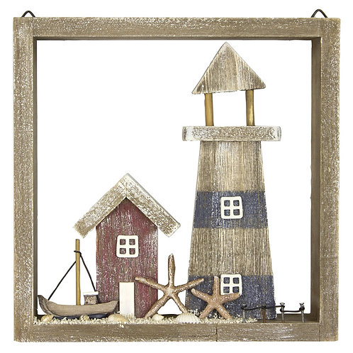 Wooden lighthouse picture