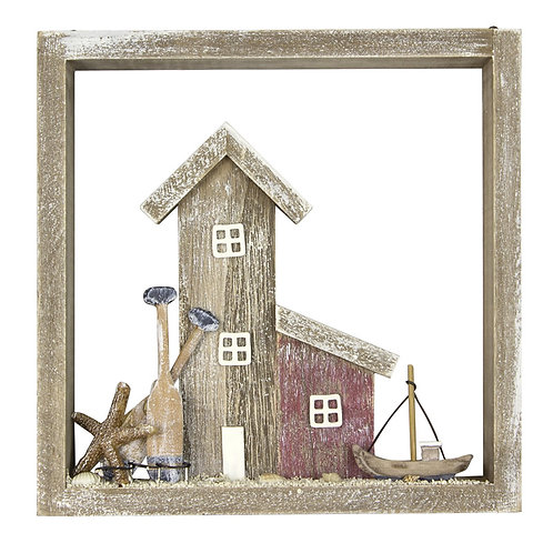 Wooden Seaside Home Picture