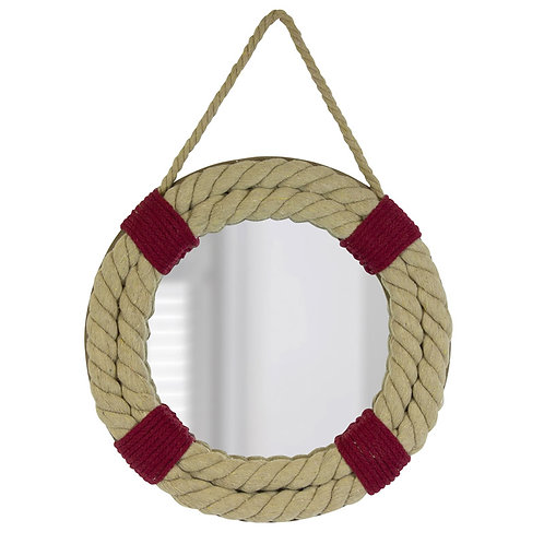 Rope Life Ring Mirror
