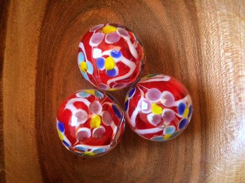 Marbles - Dahlia - Handmade