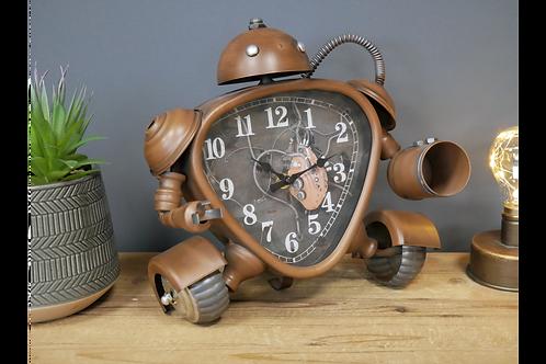 Steampunk Robot Clock
