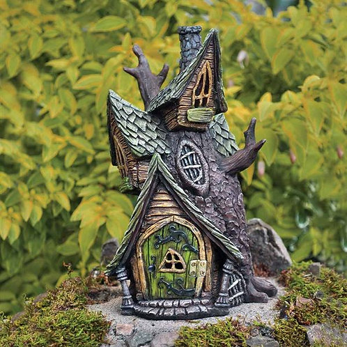 The Tree House - The Fiddlehead Fairy Garden