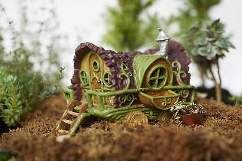 Gypsy Wagon - The Fiddlehead Fairy Garden