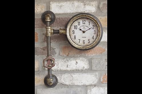Steampunk Pipe Clock