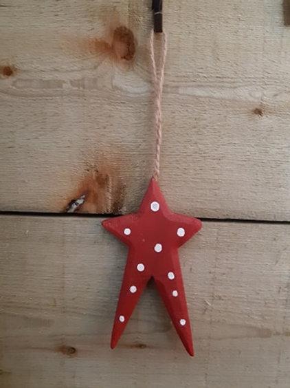 Cute Wooden Star