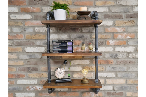 Revolution Wall Pipe Shelves