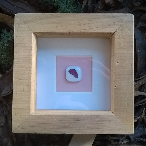 4eva Mini 'Foot print' box frame