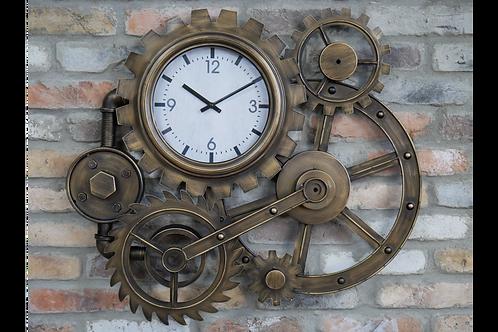 Steampunk Cog Clock