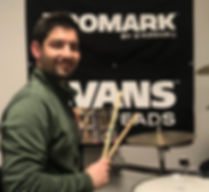 Hands on Drum lessons offered in the Lehigh Valley