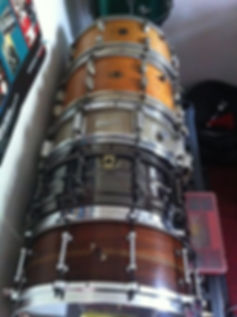 Dan's drum collection - drum lessons