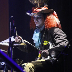 Madhatter on the drums
