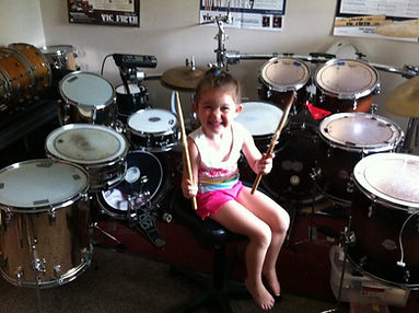 Drum lessons for young children