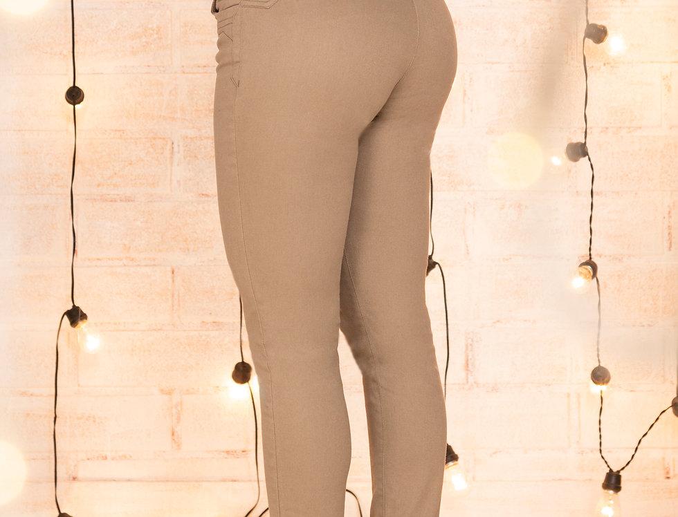 Pantalón skinny con doble cotilla