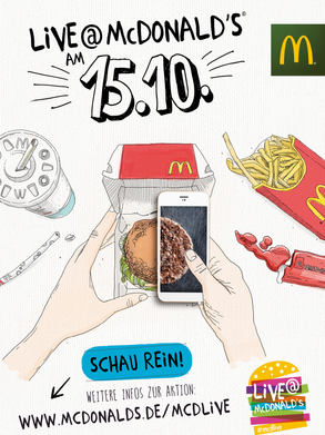 Mc Donald's Flyer