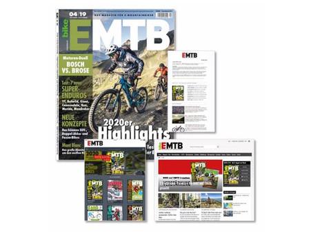 EMTB: 6x jährliches Magazin für den boomenden Markt