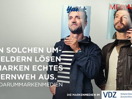 #darummarkenmedien: Verband Deutscher Zeitschriftenverlage startet Markenkampagne