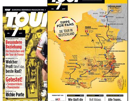 64 Seiten Tour de France Spezial in TOUR 7/18