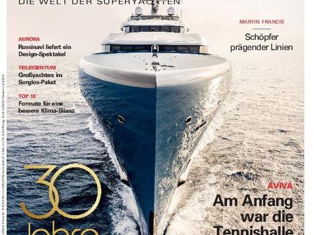 BOOTE EXCLUSIV 4/2018: Das Jubiläumsheft zum 30. Geburtstag des deutschsprachigen Superyachtmagazins