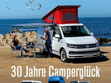 GUTE FAHRT Sonderheft VW CALIFORNIA: 30 Jahre Camperglück