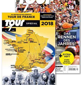 TOUR 7/2018 mit 64-seitigem Tour de France-Special