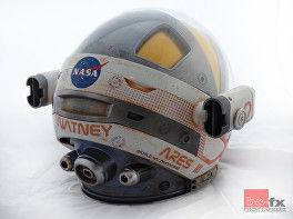 Martian Helmet finished back