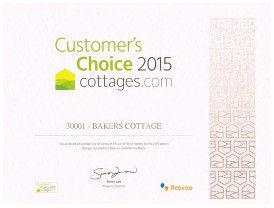 Customer Choice Award 2015