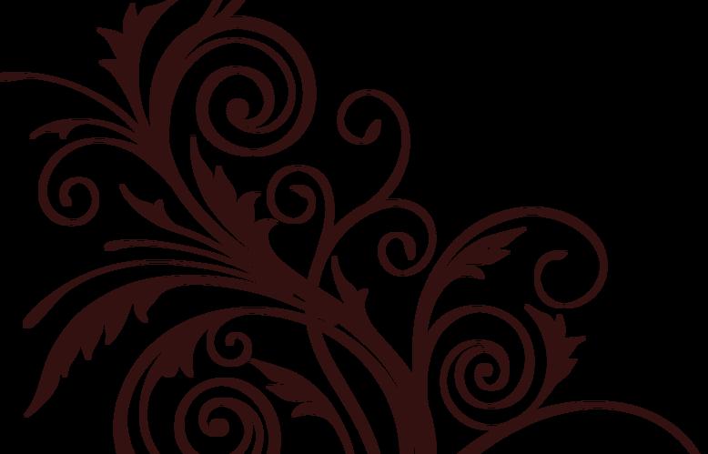 brown-floral-png