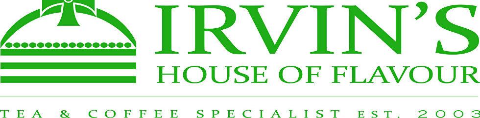 Irvin's house of flavour New logo 2016_Full logo