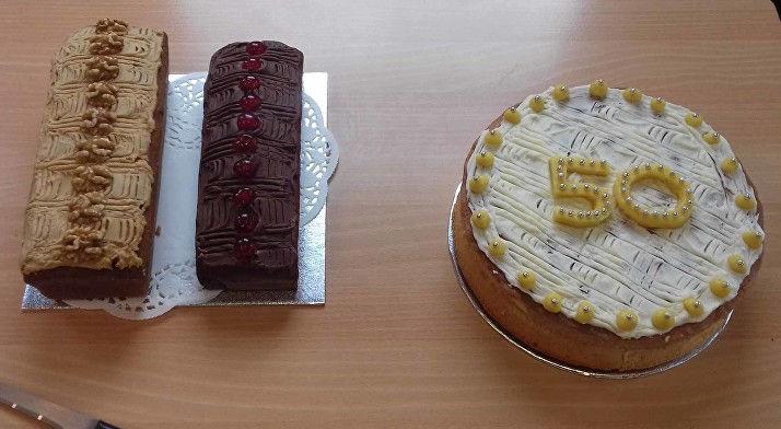 Cake reduced