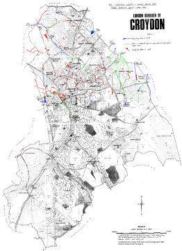 Croydon Soc Water Map