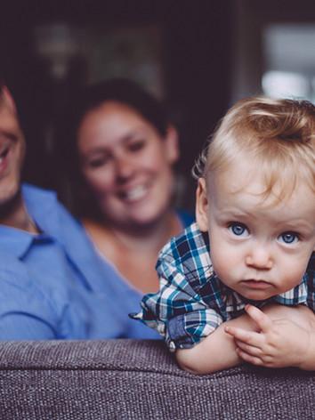 Cheeky toddler photoshoot