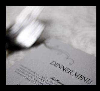 menu shot