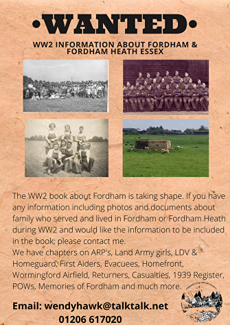 WW2 Information about Fordham-1