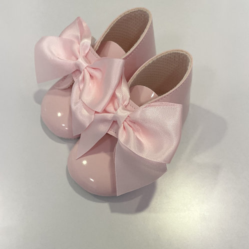 BOW BOOTS PINK
