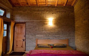 Oak Chalet's room interiors: spacious, comfortable and traditional