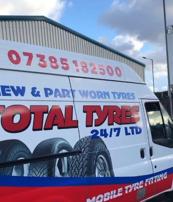 total tyres 24/7 ltd van