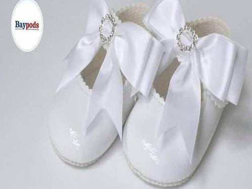 WHITE DIAMOND SHOES