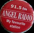 ANGEL RADIO IoW BADGE