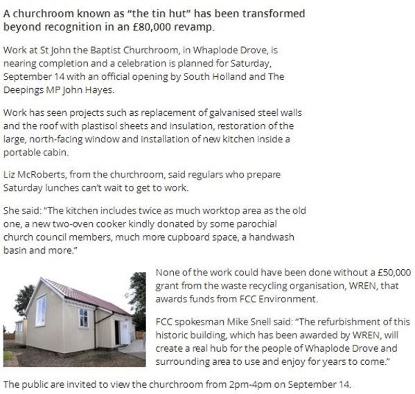 Churchroom article - kitchen revamp