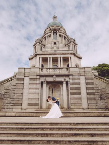 Historic buildings at weddings