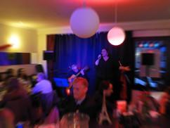 Diana Balanescu im Café de Paris Saarbrücken