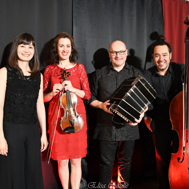 Christina Tsiakiris, Keiko Hattori, Pato Banda, Daniel Gruselle by Elisa Cutullè