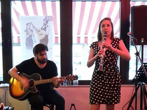 Ladislava im Café de Paris Saarbrücken