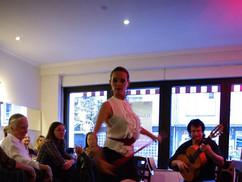 Daniela Lodani im Café de Paris Saarbrücken