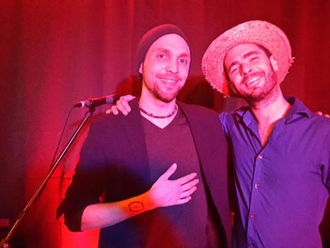 Duo Dinamico im Café de Paris Saarbrücken