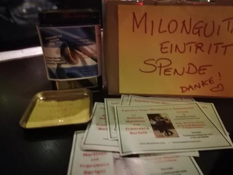 Milonga im Café de Paris Saarbrücken