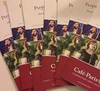 Programmheft Café de Paris Saarbrücken