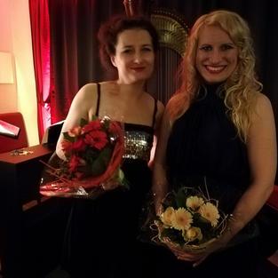 Victoria Kunze und Natalia Malkova